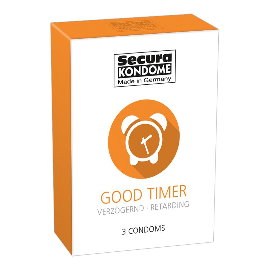 Secura Kondome Good Timer Delay x3 Condoms