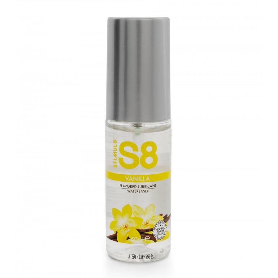 S8 Vanilla Flavored Lube 50ml