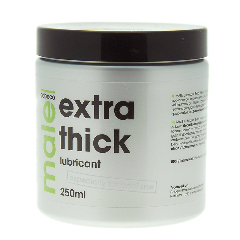 Male Extra Thick Lubricant