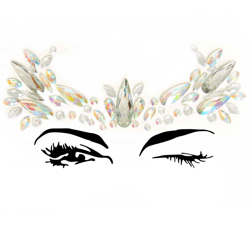Nova Eye Jewels Sticker EYE009
