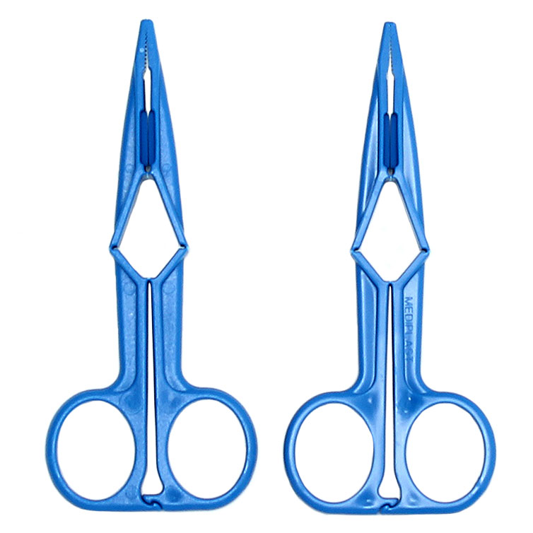 Blue Scissor Nipple Clamps