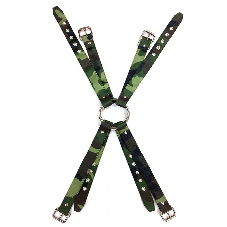 Rouge Army Camouflage Chest Harness